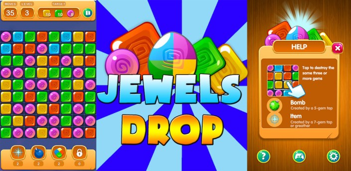 Jewels Drop apk