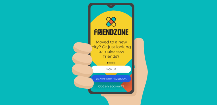 FriendZone - Find Friends Based On Your Interests apk