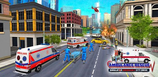 Emergency Rescue Ambulance Driving Simulator 2019 apk