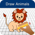 Draw Easy Animals For Kids Icon