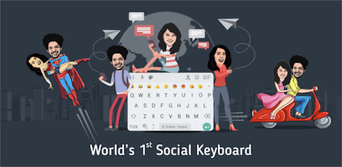 Bobble Indic Keyboard - Stickers, Fonts & Themes apk