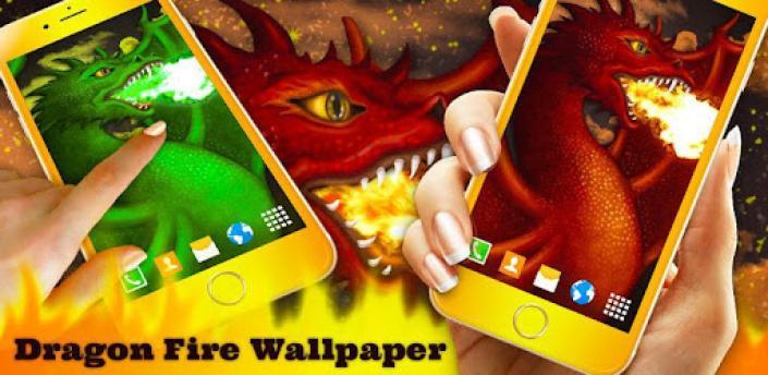 Dragon Fire Live Wallpaper 🐲 Fantasy Wallpapers apk