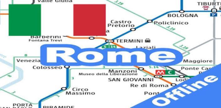 Rome Metro - Map & Route Offline apk