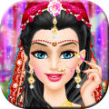Indian Bridal Makeup and Makeover Wedding Dressup Icon