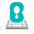 Bobble Indic Keyboard - Stickers, Fonts & Themes Icon