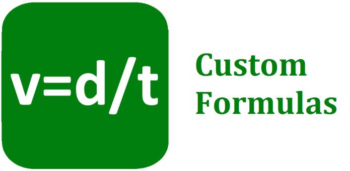 Custom Formulas apk