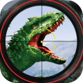 Dino Games - Hunting Expedition Wild Animal Hunter Icon