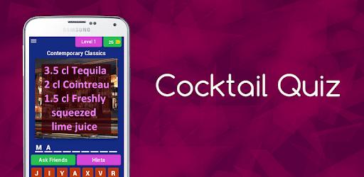 Cocktail Quiz (Bartender Game) apk
