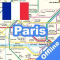 PARIS METRO TRAIN BUS TRAM TOUR MAP パリ 巴黎 OFFLINE Icon