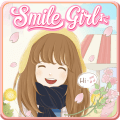 Smile Girl Live Wallpaper Icon