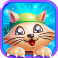 Toon Cat Town - Toy Quest Story Tune Blast Games Icon
