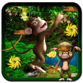 Monkey Banana Stunts Icon
