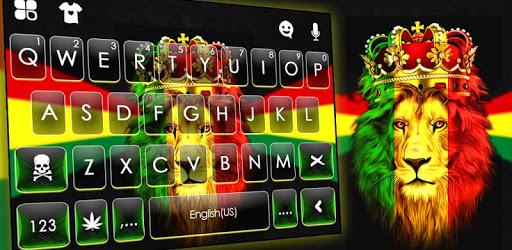 Reggae Lion Crown Keyboard Theme apk