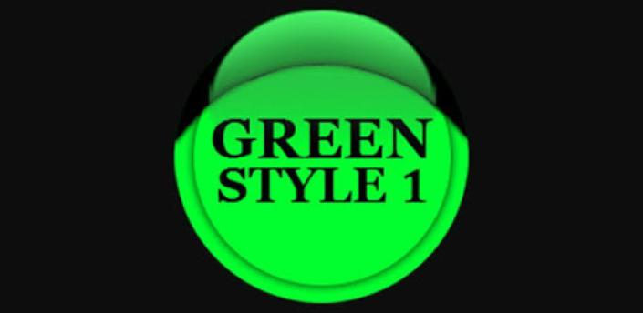 Green Icon Pack Style 1 ✨Free✨ apk