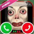 Ayuwoki no speaking Fake Call Simulator Icon