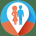 Couple Tracker - Phone monitor Icon