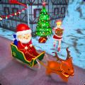 Santa Claus Merry Christmas Adventure: Gift Game Icon