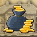 Gold Coin Bag Escape Icon