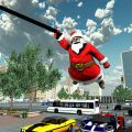Crime City Simulator Santa Rope Hero Icon
