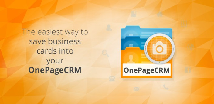 Business Card Reader for OnePage CRM apk