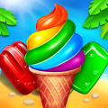 Ice Cream Paradise - Match 3 Puzzle Adventure Icon