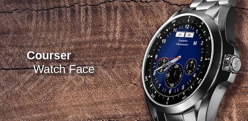 Classic Watch Face: Courser - Wear Smartwatches apk
