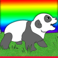 Baby Animals Coloring Game Icon