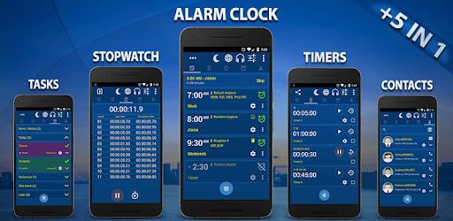 Alarm Clock & Timer & Stopwatch & Tasks & Contacts apk