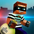 🚔 Robber Race Escape 🚔 Police Car Chase Runner Icon