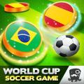 World Cup Soccer Games Caps 2018 Icon