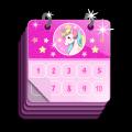 Unicorn Calendar Icon