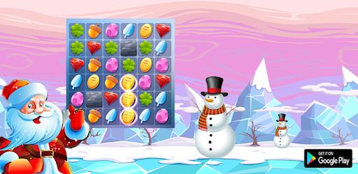 Sweet Santa Christmas Crush : Match 3 Puzzle Candy apk