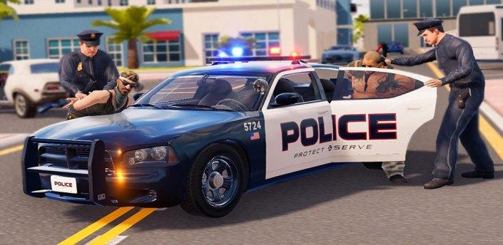 Virtual Police Officer Crime City- Gangster Games apk