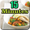 15 Minutes Meals Recipes Easy Icon