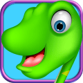 Dino Draw and Paint Icon