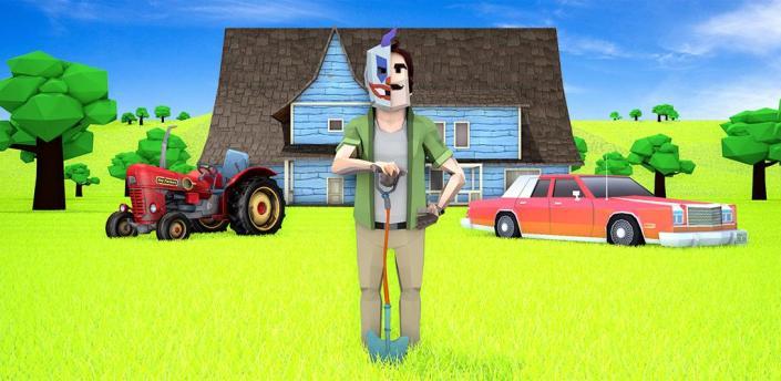 Scary Clown Man Neighbor. Seek & Escape apk
