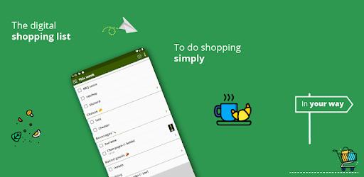 Grocery list, card coupon wallet: BigBag Pro apk