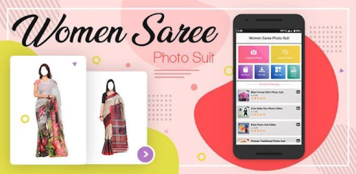 Women Saree Photo Suit apk
