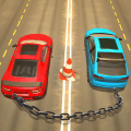 Chained Car Racing Games 3D Icon