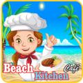 Beach Kitchen Cafe - Burger Restaurant Story Icon