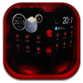 Next Launcher Theme MagicRed Icon
