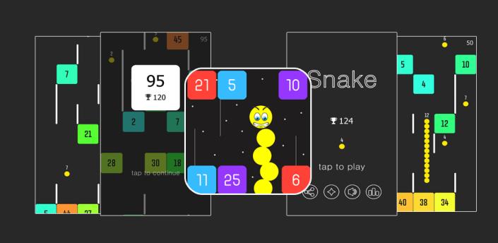Snake VS Block apk