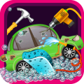 Auto Repair Mechanic Shop Icon