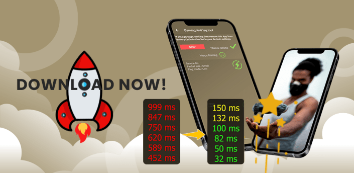 Mobile Gaming Ping : Anti Lag Tool for all Games apk