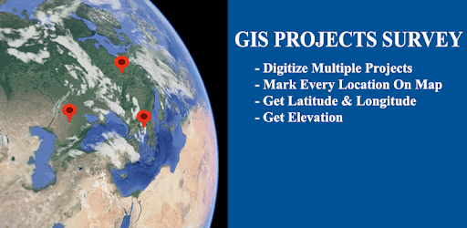 GIS-GPS Projects Geo Coordinates On Map apk