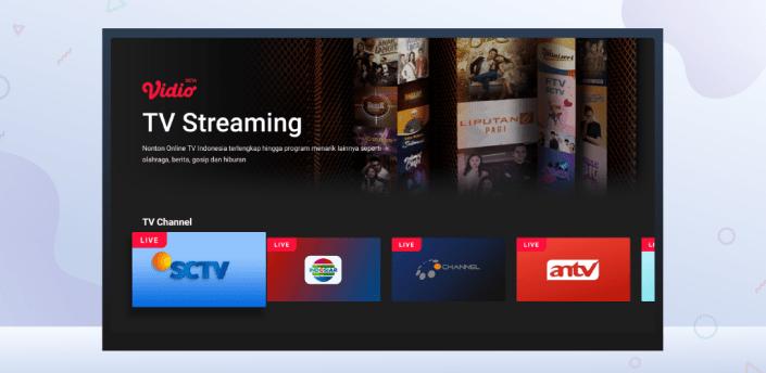 Vidio TV - Watch Video, TV & Live Streaming apk