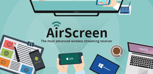 AirScreen - AirPlay & Google Cast & Miracast apk