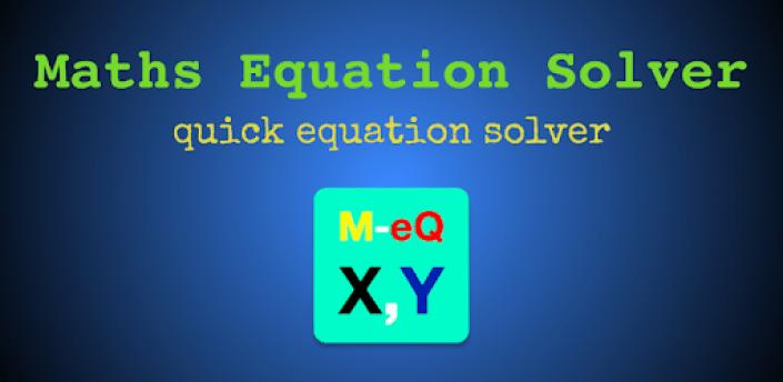 Maths Equation Solver apk