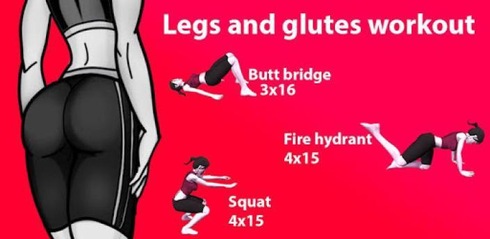 Leg workout for women female fitness apk