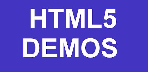 HTML5 Demos apk
